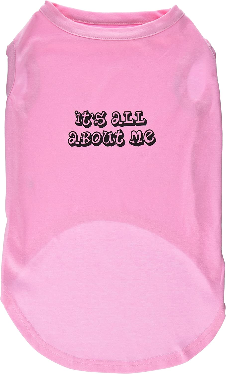 Mirage Pet Products 20Inch It's All About Me Screen Print Shirts for Pets, 3XLarge, Light Pink