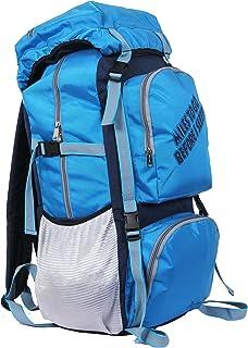 POLESTAR Rocky Polyester 60 Lt Sky Blue Rucksack/Travel/Hiking/Weekend Backpack Bag