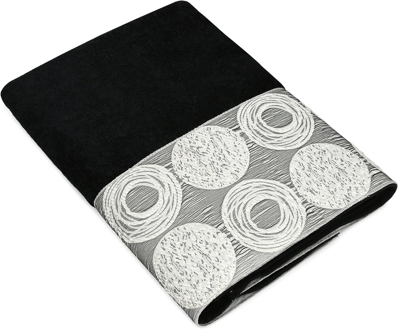 Avanti Linens Galaxy Towel Manufacturer Max 84% OFF OFFicial shop Black Bath