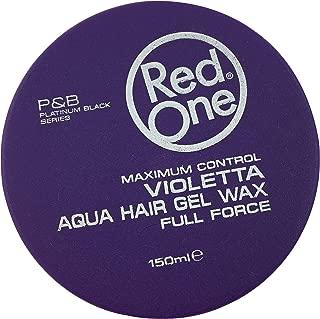 RedOne Aqua Hair Gel Wax Maximum Control Violetta 150 ml