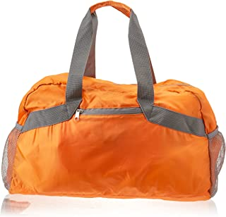 SE BG-DB103OR Orange Collapsible Duffel Bag