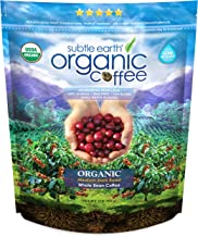 Subtle Earth USDA Organic Whole Bean Coffee Honduran Marcala Medium-Dark Roast Bag 907 Grams