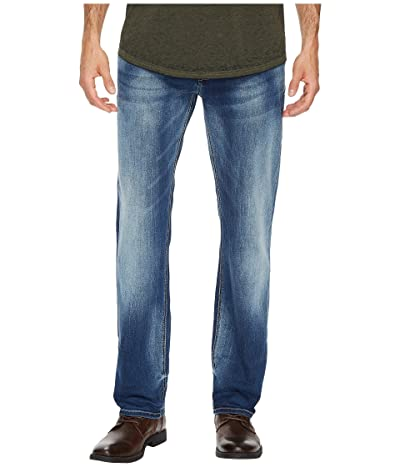 Buffalo David Bitton Evan-X Slim Straight Leg Jeans in Veined and Whiskered (Veined and Whiskered) Men
