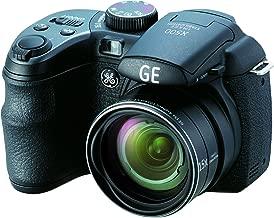 GE Power Pro X500-BK 16 MP with 15 x Optical Zoom Digital Camera, Black (OLD MODEL)