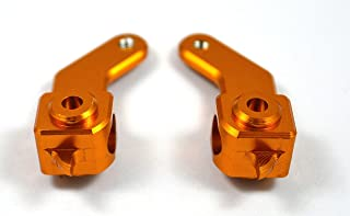 Dhawk Racing Aluminum Steering Blocks for Team Associated Rc10 World's Car 6225 Gold