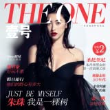 A monthly magazine that covers entertainment news, cosmetics and skin care products-----THE ONE