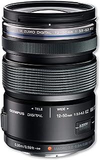 OLYMPUS ED12-50mmF3.5-6.3 EZ BLK 標準ズームレンズ 防塵防滴 ブラック