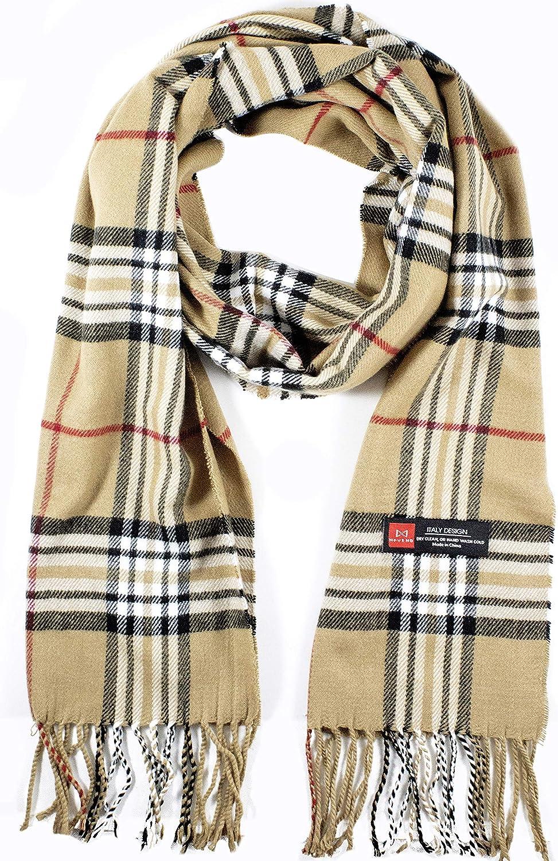 Men Women Winter Warm Cashmere Scarf Ranking TOP8 Feel Great interest Plaid Warp Soft