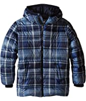 Dolce & Gabbana Kids - Back to School Nylon Check Coat (Big Kids)