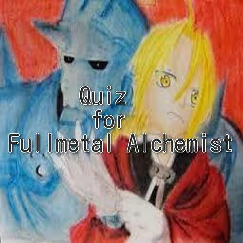 Quiz for Fullmetal Alchemist