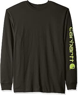 Men's Signature Logo Long Sleeve T Shirt K231