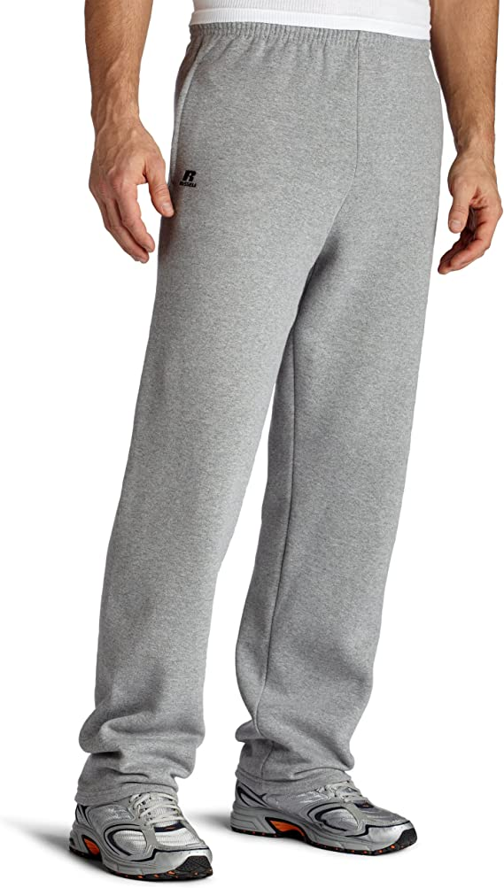 Russell  Adult Mens No Pocket  DriPower Elastic Bottom Sweatpants 3X or 4X NEW