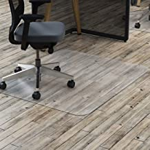 Marbig Rectangle Polycarbonate Hard Floor Chairmat, Large, Clear