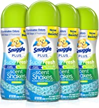 Snuggle Scent Shakes in-Wash Scent Booster Beads, SuperFresh Original, 9 Ounce (Pack of 4)