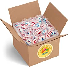 Patriot Lollipops by Candy Creek, Bulk 5 lb. Carton, Wild Strawberry and Blueberry Blast