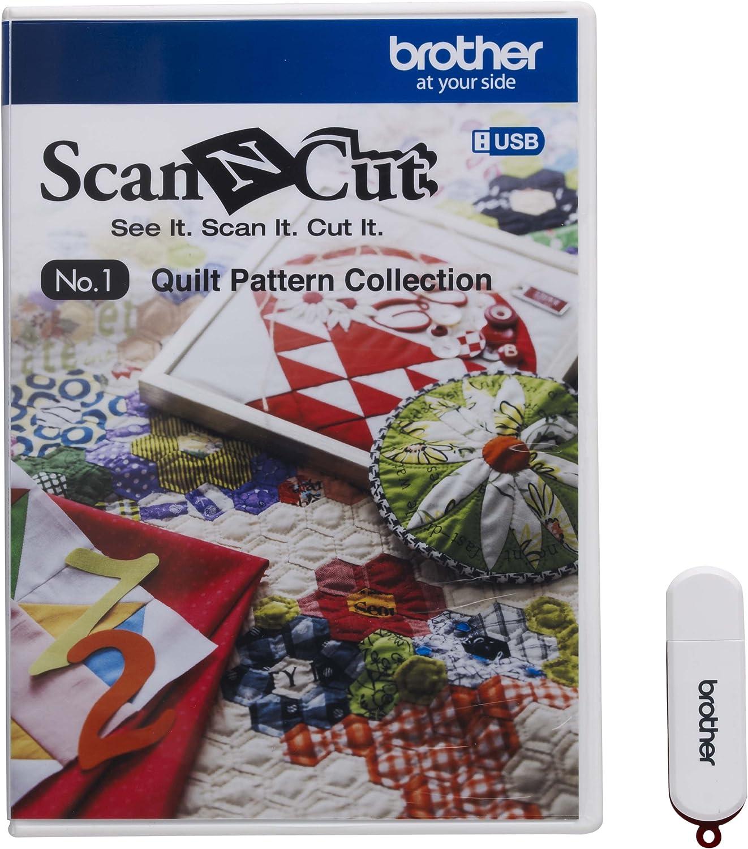 más descuento Brojoher CAUSB1 Scan-N-Cut n. 1 - Colección de de de Patrones para Patchwork, Color blancoo  ventas de salida