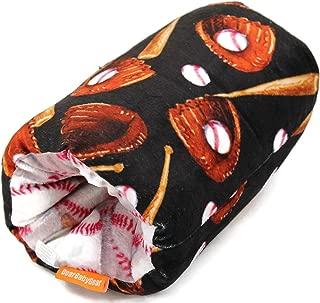 Dear Baby Gear Deluxe Reversible Nursing Arm Pillow, Baseball Bat Glove