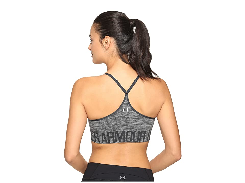 Under Armour Armour Seamless Streaky w/ Cups (Carbon Heather) Women