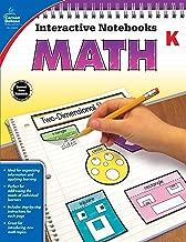 Carson-Dellosa Interactive Notebook for Math, Kindergarten