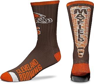 For Bare Feet NFL Player Jump Key Men's Crew Socks