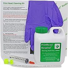 Printhead Hospital - Kit de limpieza para cabezales de impresoras Epson, Canon, Brother y HP (500 ml)
