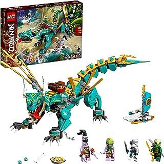 LEGO71746NinjagoLeDragondelaJungleJeudeConstructionavecLesMinifigurinesNinjaLloydetZane,Enfantde8Ans...