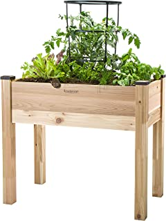 CedarCraft Elevated Cedar Planter (18