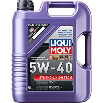 Liqui Moly 1307 Synthoil High Tech 5W-40 - Aceite antifricción ...