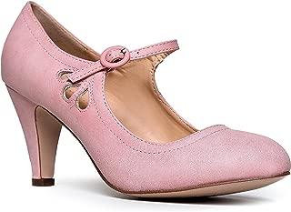 Best rose pink kitten heels Reviews