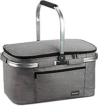 bomoe K47 torba chłodząca do lodownicy, składana, chłodząca torba chłodząca, 47 x 27 x 26 cm, 32 l, kosz piknikowy na kemp...