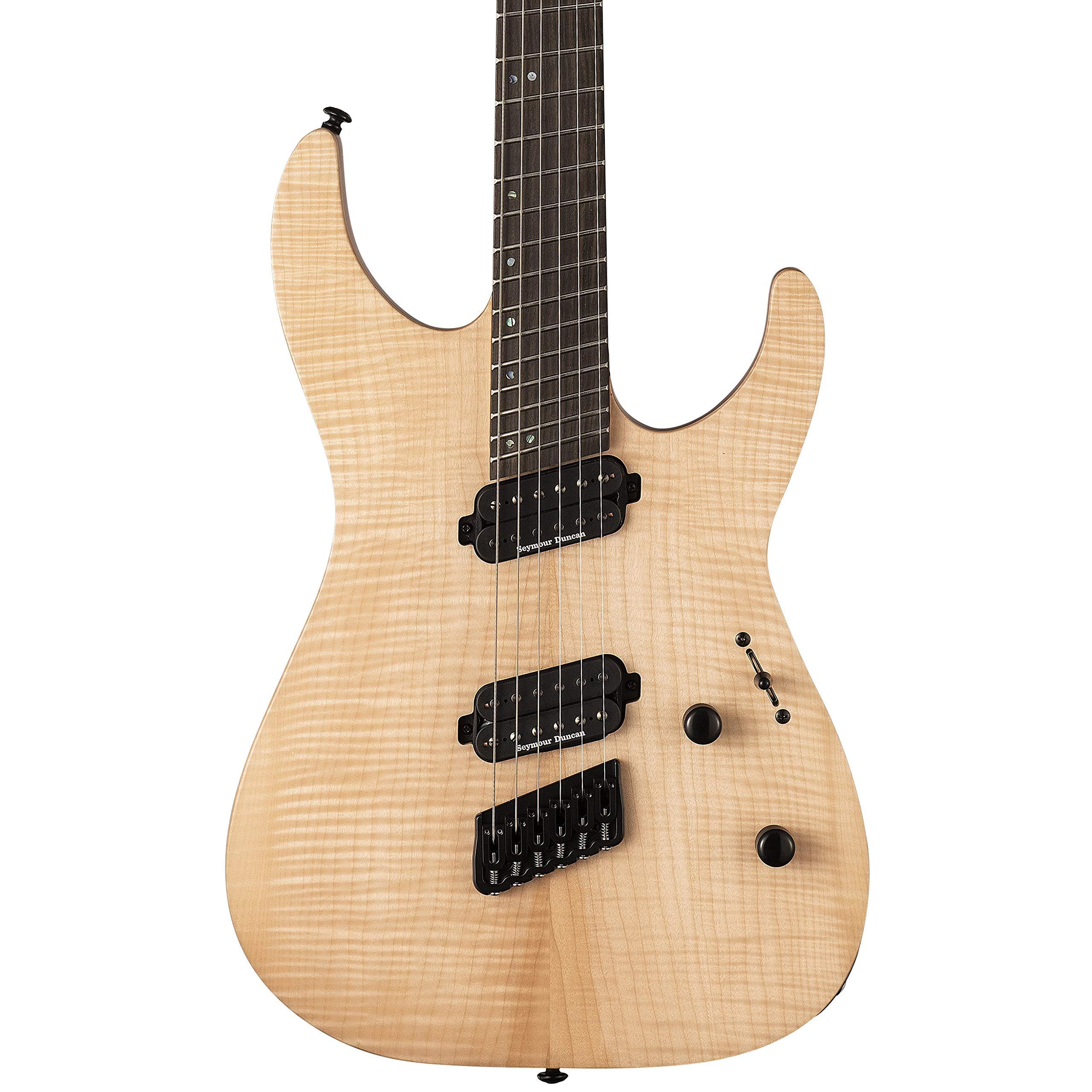 Cheap ESP LTD M-1000 Multi-Scale Electric Guitar Natural Satin Black Friday & Cyber Monday 2019