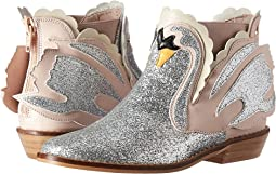 Stella McCartney Kids - Lilly Glittered Swan Ankle Boots (Little Kid/Big Kid)