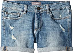 Piper Cuffed Shorts in Dorado (Big Kids)