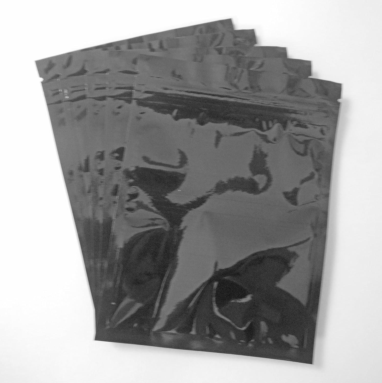 Max 62% OFF Black 4.5x6 Opaque Mylar Foil T Tampa Mall Heat-Seal Impulse Press-Zip Bag