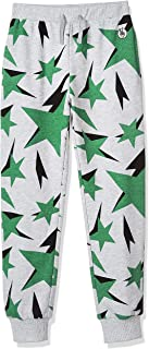 Kid Nation Kids Unisex Printed Pull On Sweatpants Casual Jogger Pants for Boys or Girls 4-12 Years