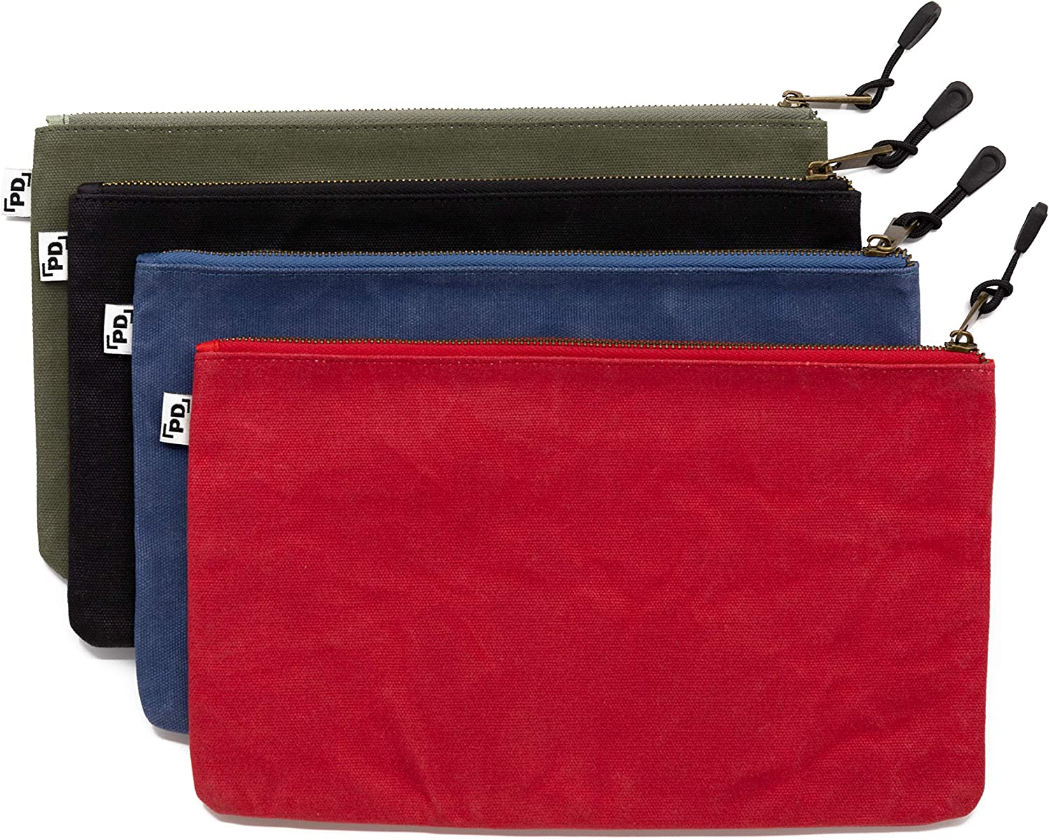 Precision Defined Heavy Duty Waxed Tool Canvas Zipper Bags Austin Mall Minneapolis Mall with