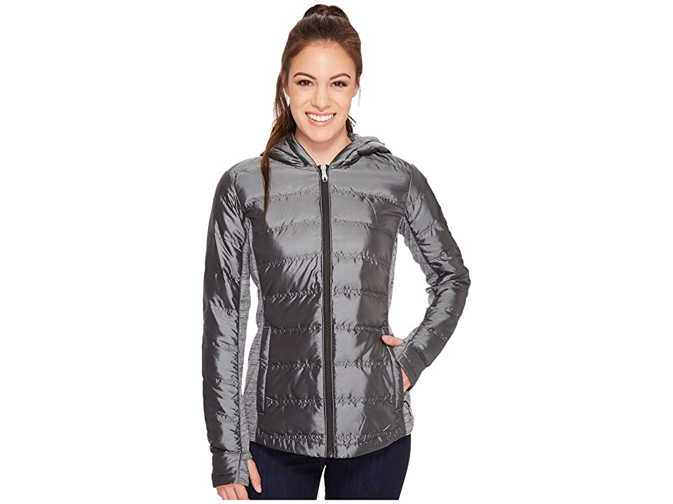 Spyder Solitude Hoodie Down Insulator Jacket (Black/Black) Women