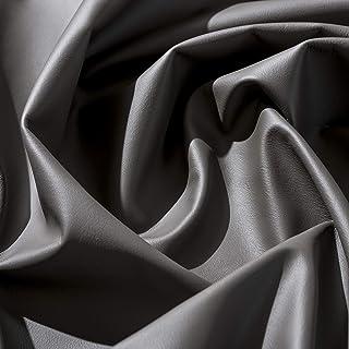IPEA Coupes de Cuir véritable qualité Premium en différentes Couleurs et Tailles - Surface Lisse Coupe de 140 x 15 cm, Gra...