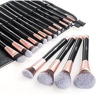 Makeup Brushes, Anjou 16pcs Makeup Brush Set, Premium Cosmetic Brushes for Foundation Blending...