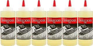Dahle Shredder Oil Reduces Friction and Optimizes Performance in Paper Shredders, For Use In All Shredders, 6 - 12 oz. Bottles