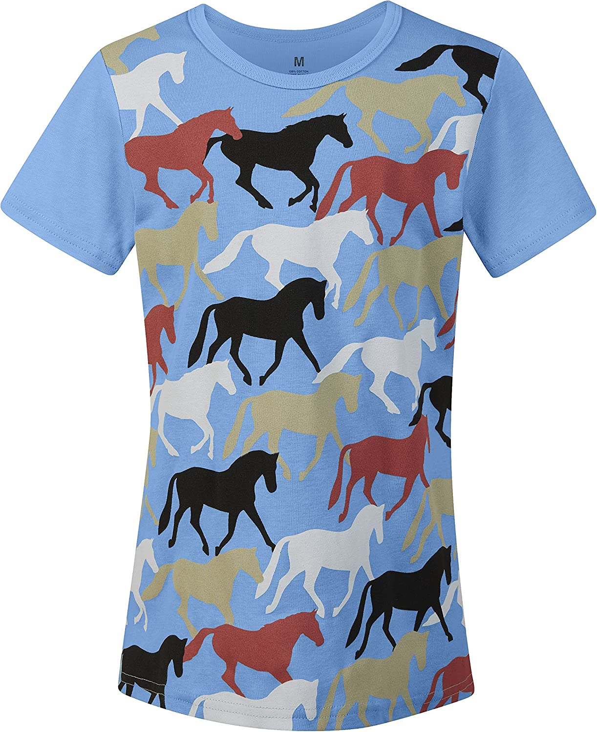 Kerrits At the price of surprise Kids Round Selling and selling Up Tee Horse