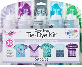 Tulip One-Step Tie Dye 5-Color Kit Mermaid, Great For Parties, DIY Fashion