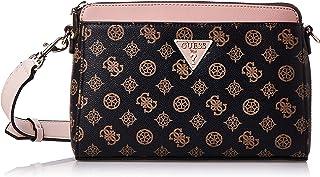 Guess Womens Cross-Body Handbag, Brown/Blush - SP729114