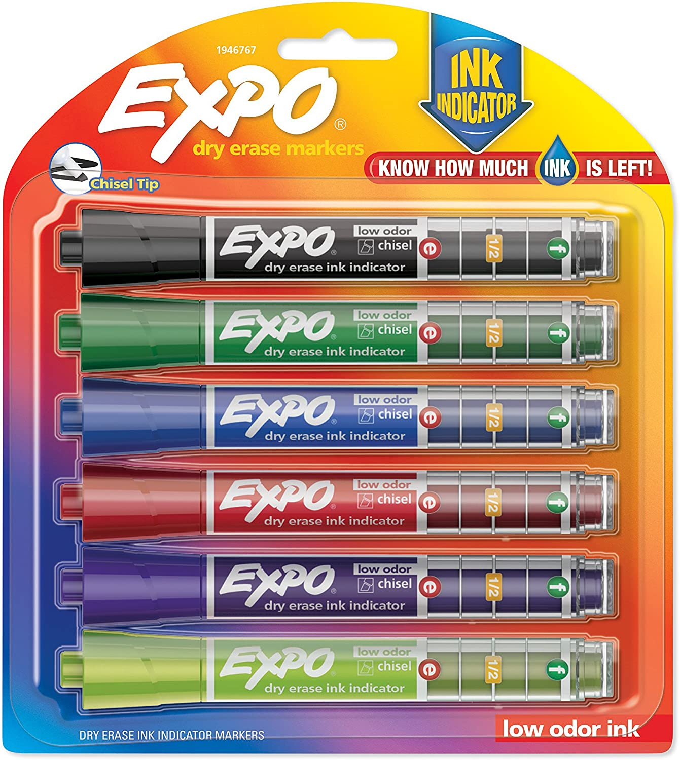EXPO Super beauty product restock quality top Dry Erase Markers with Indicator Assorted Sales results No. 1 Chisel Tip Ink