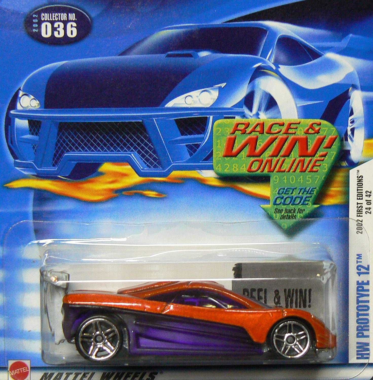 Mattel Hot Wheels 2002 1 64 Scale First Editions orange Hw Predotype 12 Die Cast Car  036