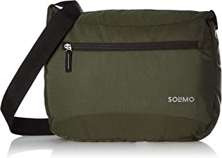 Amazon Brand - Solimo Sling Bag (Olive Green)