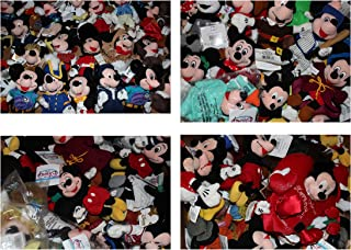 Bean Bags Disney Plush - Mixed LOT of 5 Mickey Mouse