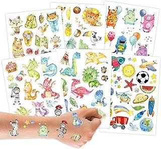 100 Tattoos für Kinder - Hautfreundliche Kindertattoos mit