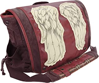 "The Walking Dead Daryl Wings 15"" Messenger Bag, Dead Red"