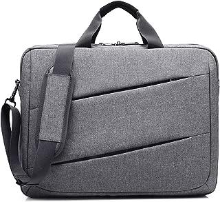 CoolBELL 17.3 Inch Laptop Messenger Bag Case Multi-Functional Briefcase Multi-Compartment Handbag Shoulder Bag for Laptop/Ultra-Book/Tablet (New Grey)
